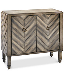 Lyden Chevron Accent Chest, Quick Ship
