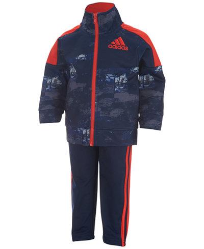 adidas 2-Pc. Elemental Track Suit, Toddler Boys (2T-5T) & Little Boys (2-7)