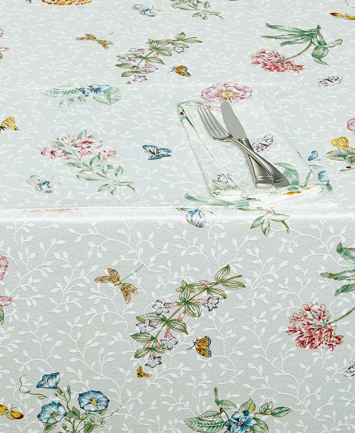 "Lenox - ""Butterfly Meadow"" Oblong Tablecloth, 60x84"""