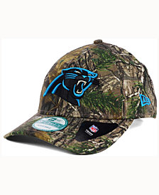 New Era Carolina Panthers The League Realtree 9FORTY Cap