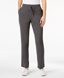 Karen Scott Pull-On Lounge Pants, Created for Macy's