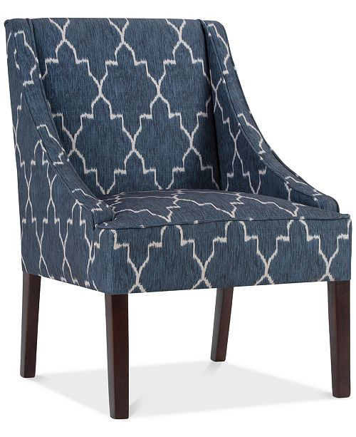 Simpli Home Carone Accent Chair