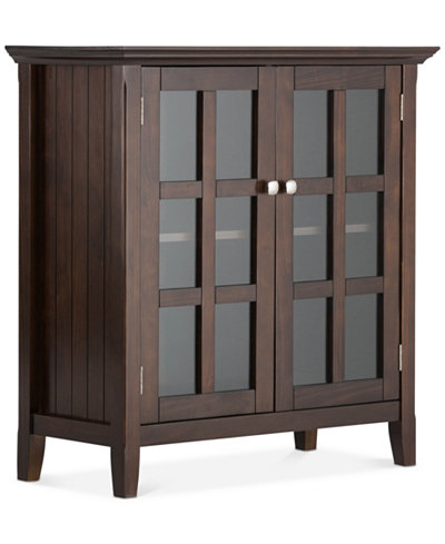 Avery Low Storage Cabinet, Quick Ship