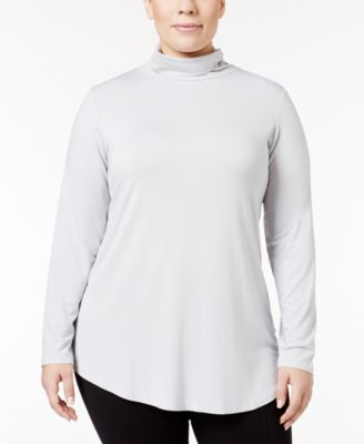 JM Collection Plus Size Turtleneck Top, Only at Macy's