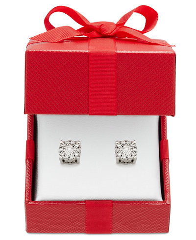 Diamond Stud Earrings (1/3 ct. t.w.) in 14k Gold, Rose Gold or White Gold