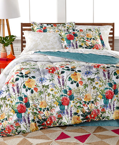 CLOSEOUT! Leslie 8-Pc. Reversible Full Bedding Ensemble