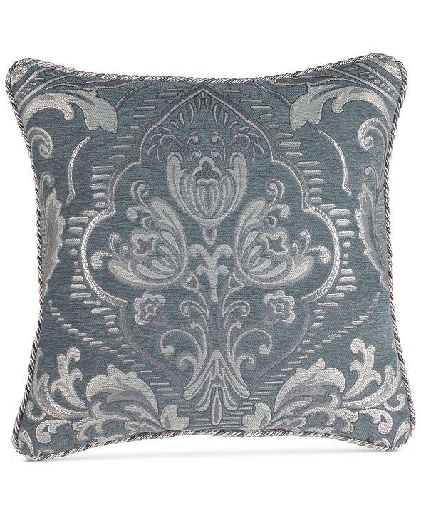 """Croscill CLOSEOUT! Gabrijel 18"""" Square Decorative Pillow"""