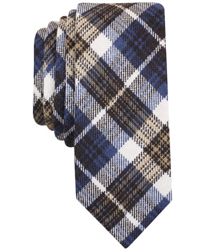 Original Penguin Men's Reeves Plaid Skinny Tie