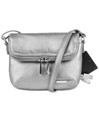 Kenneth Cole Reaction Wooster Street Foldover Phone Charging Mini Bag