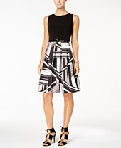 Womens Black And White Dress Shop For And Buy Womens