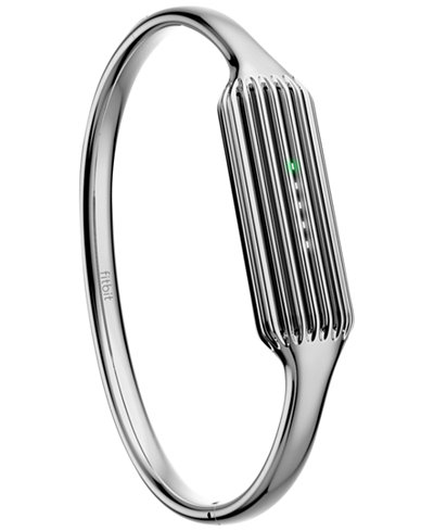 Fitbit Women's Flex 2 Premium Stainless Steel Bangle Bracelet