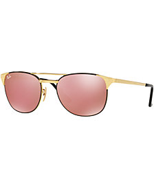Ray-Ban SIGNET MIRROR Sunglasses, RB3429M 58