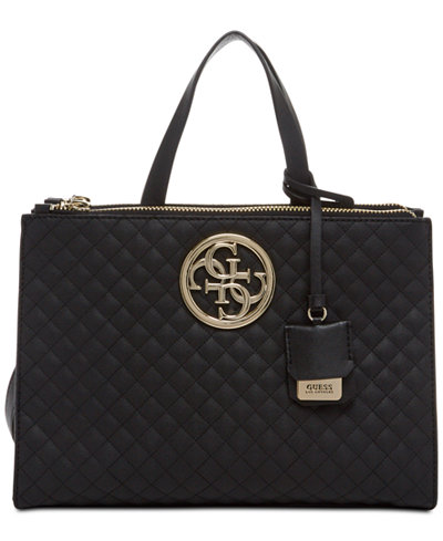 Guess G Lux Status Satchel Handbags Amp Accessories Macy S