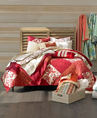 Martha Stewart Collection Cozy Holiday Quilts, Shams and ... : macys bedding quilts - Adamdwight.com