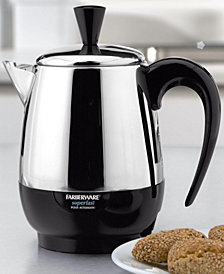 Farberware  2-8 Cup Electric Percolator, Stainless Steel, FCP240