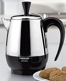 Farberware  2-4 Cup Electric Percolator, Stainless Steel, FCP240