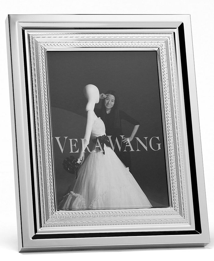 """Vera Wang Wedgwood - With Love 4"""" x 6"""" Picture Frame"""
