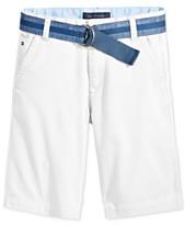 928223a9ba Tommy Hilfiger Dagger Twill Shorts, Little Boys
