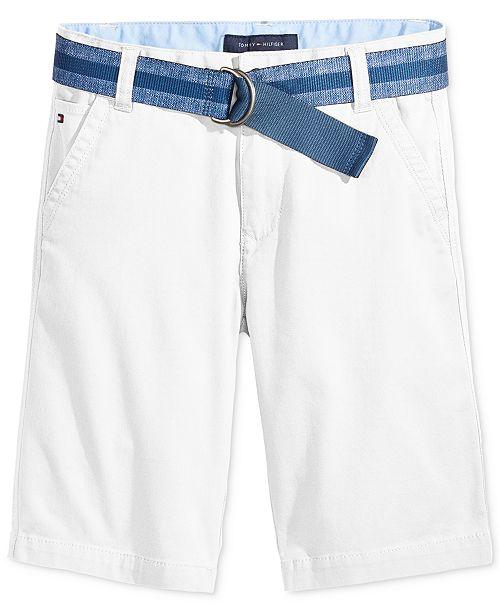 Tommy Hilfiger Dagger Twill Shorts, Little Boys