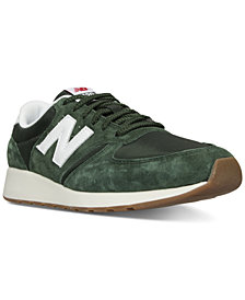 New Balance Men's 420 Pig Suede Casual Sneakers from Finish Line