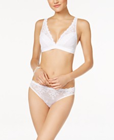 Wacoal Embrace Lace Soft Cup Wireless Bra and Bikini