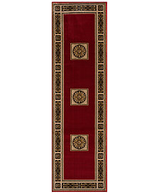 "KM Home Sanford Milan 2'3"" x 7'7"" Runner Rug, Created for Macy's"