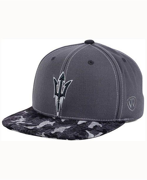 Top of the World Arizona State Sun Devils Luete Snapback Cap