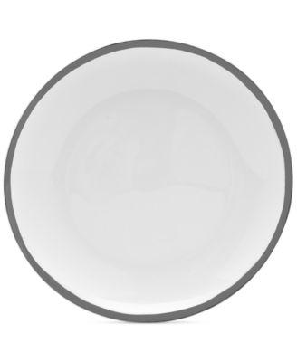 Blakeslee Platinum Salad Plate