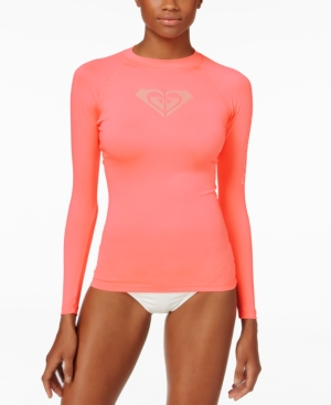 Roxy Long-Sleeve Logo Rashguard Women's Swimsuit