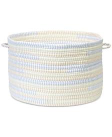 """16"""" x 10"""" Braided Fabric Basket"""