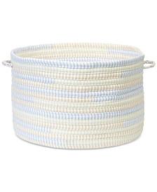 "Colonial Mills 16"" x 10"" Braided Fabric Basket"
