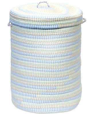 Colonial Mills Multi-Color Cord-Braid Basket