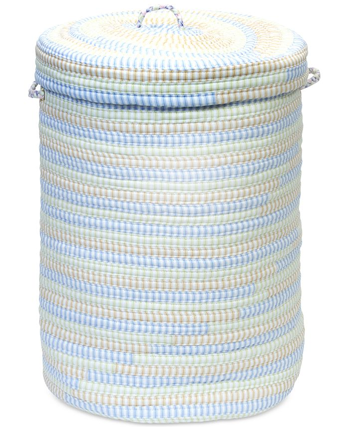 Colonial Mills - Multi-Color Cord-Braid Basket