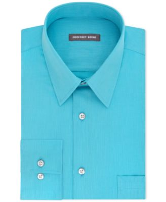 Image of Geoffrey Beene Men's Classic-Fit Wrinkle Free Bedford Cord Dress Shirt