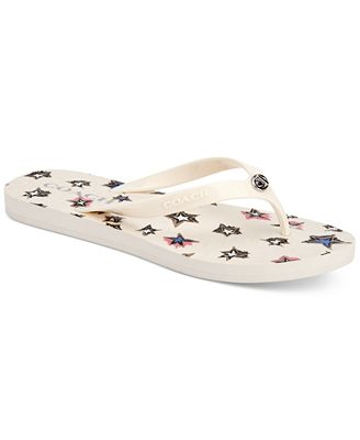 COACH Abbigail Flip-Flop Sandals