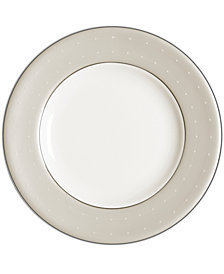 Monique Lhuillier Waterford Etoile Platinum Appetizer Plate