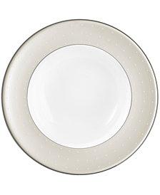 Monique Lhuillier Waterford Dinnerware, Etoile Platinum Rim Soup Bowl