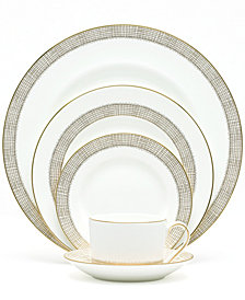 Vera Wang Wedgwood Gilded Weave Gold 5-Piece Place Setting
