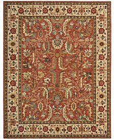 "Persian Legacy PL04 Terracotta 2'6"" x 4'3"" Area Rug, Created for Macy's"