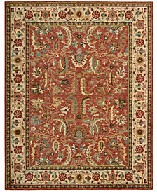Nourison Round Area Rug, Created for Macy's, Persian Legacy PL04 Terracotta 7' 10""