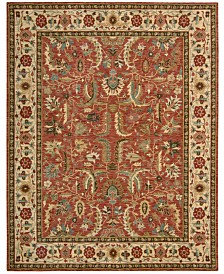 "Nourison Area Rug, Created for Macy's, Persian Legacy PL04 Terracotta 2' 6"" x 12' Runner Rug, Created for Macy's"