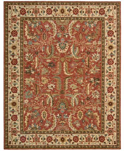 Nourison Area Rug Created For Macy S Persian Legacy Pl04 Terracotta 5 6