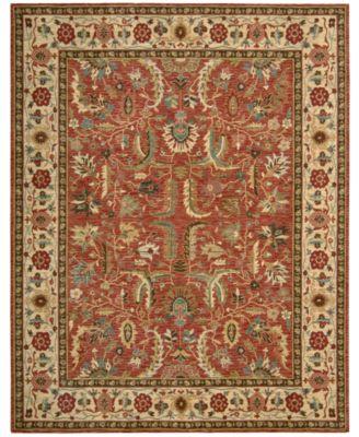 Captivating Nourison Area Rug, Created For Macyu0027s, Persian Legacy PL04 Terracotta 5u0027 6