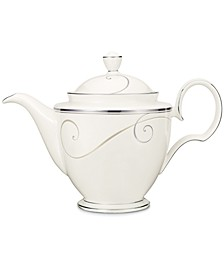 Dinnerware, Platinum Wave Coffee Pot