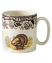 "Spode ""Woodland"" Turkey Mug"