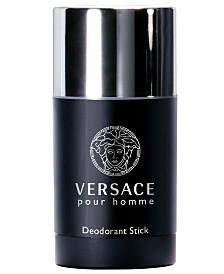 Versace Men's Pour Homme Deodorant Stick, 2.5 oz.