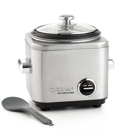 Cuisinart CRC400 Rice Cooker & Steamer, 4 Cup