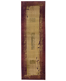 "Oriental Weavers Area Rug, Generations 544X Shadow Vine 2'3"" x 7'6"" Runner Rug"