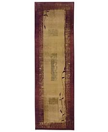 """Oriental Weavers Area Rug, Generations 544X Shadow Vine 2'3"""" x 7'6"""" Runner Rug"""