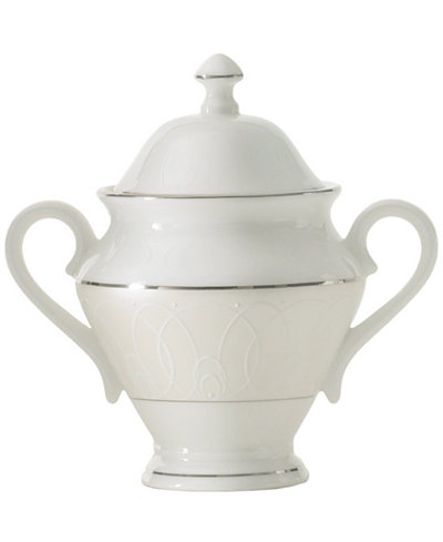 Waterford Ballet Icing Pearl Covered Sugar Bowl